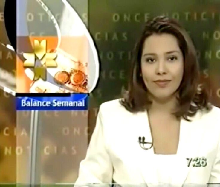 Mariana Escobedo en once noticias de canal 11