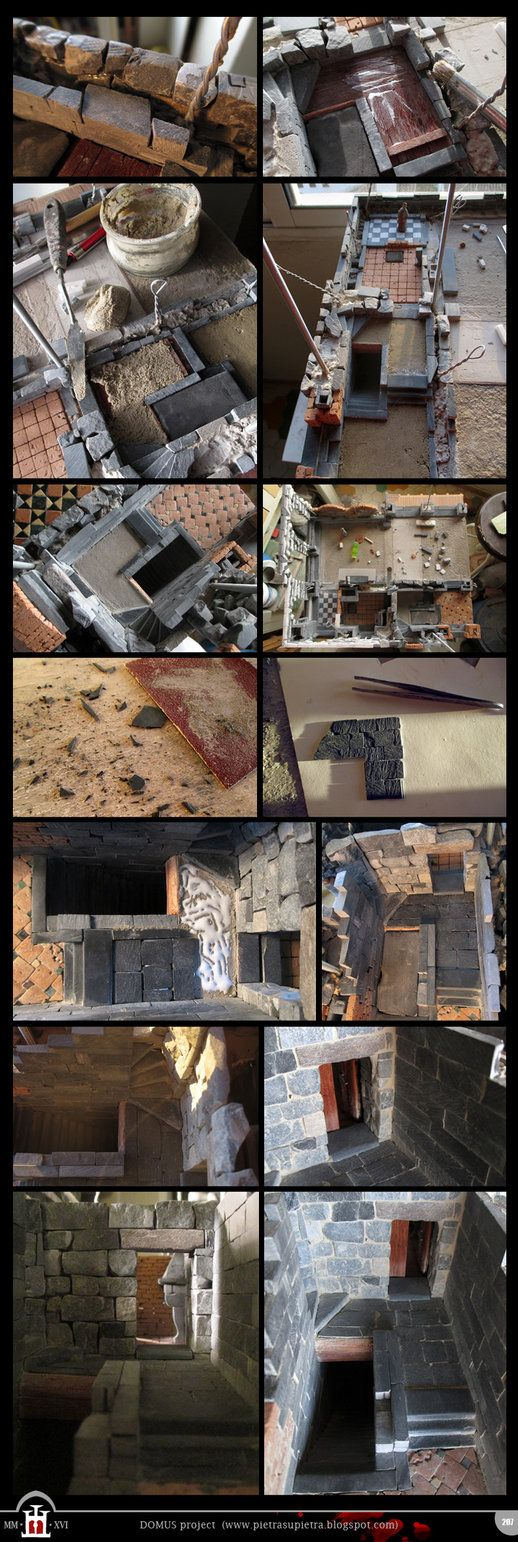 Domus project 207: Slate tiles floor