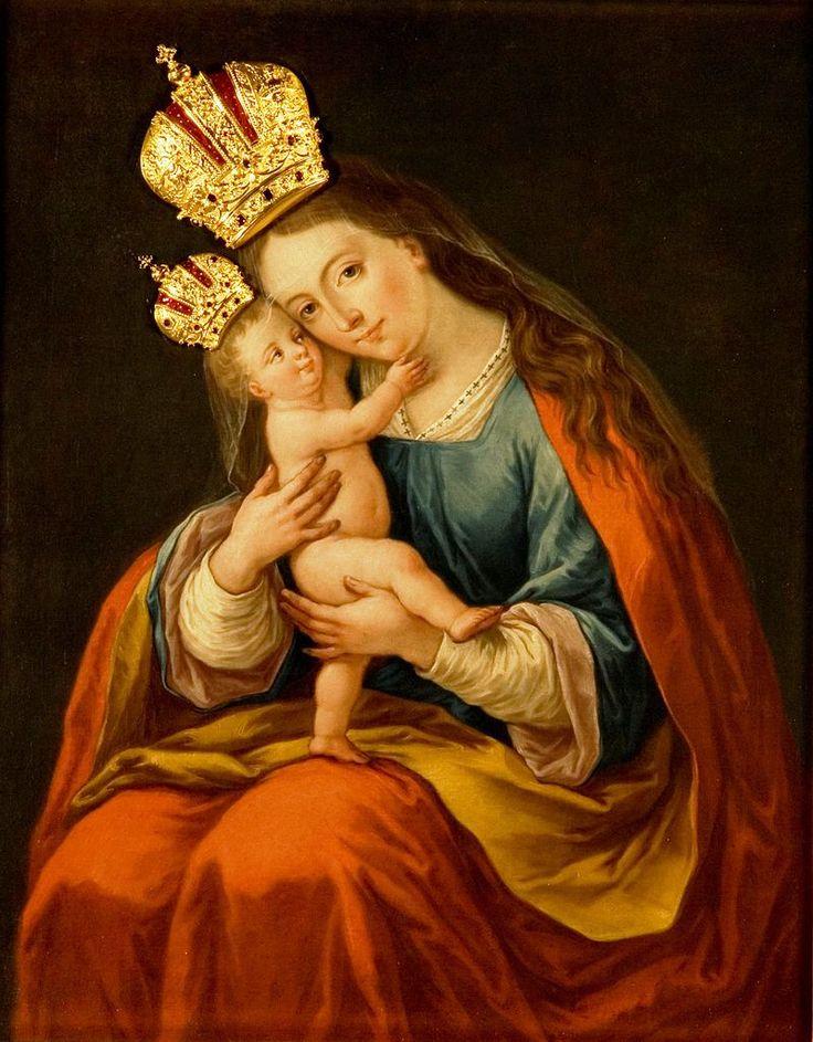 Brezjanska Marija - Bazilika Marije Pomagaj, Brezje - Wikipedija, prosta enciklopedija