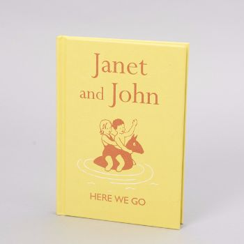 Janet And John, Here We Go Book: Janet and John is a classic bestseller by Mabel O'Donnell and Rona Munro, first published in 1949. Here we go is the perfect introduction to reading and is fully illustrated throughout with traditional drawings by Florence and Margaret Hoopes.