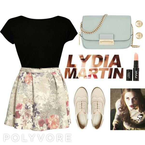 Lydia martin style, very classic ❤