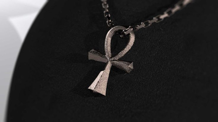 Ankh #Pendant made in bronze infused stainless steel.