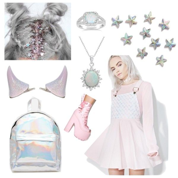 Untitled #27 by pastellilapsi on Polyvore featuring Macaron Hombeth, Y.R.U., ASOS and Amanda Rose Collection