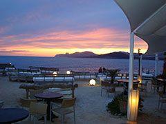 Cap d'es Falco, Ibiza - Amazeballs seafood and breathtaking sunset views :)