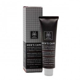 MENS CARE Gentle Shaving Cream with hypericum & propolis. #EasyShaving #Protection from Irritations #Softness & #Revitalization  Gentle cream that offers a deep and easy shave without causing irritations, relieves instantaneously from razor burn and revitalizes both and mood. Read more at www.apivita.com