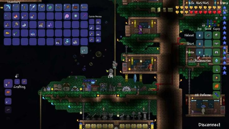 [Terraria] Eater of Worlds Fight - YouTube