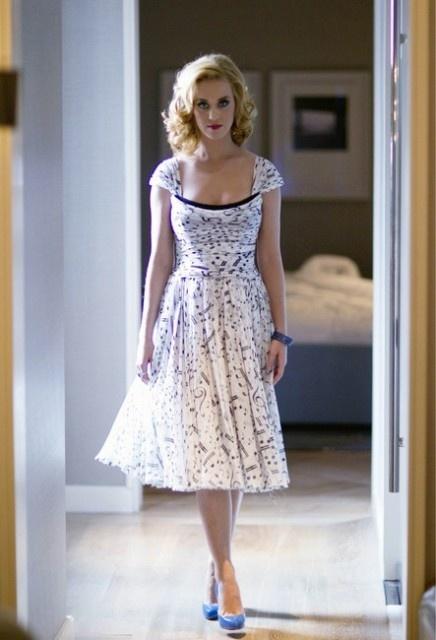 Katy Perry music dress Dolce & Gabanna