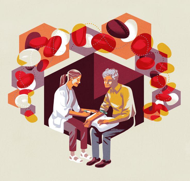 Illustration by Jussi Kaakinen for Tuumori magazine, 2015