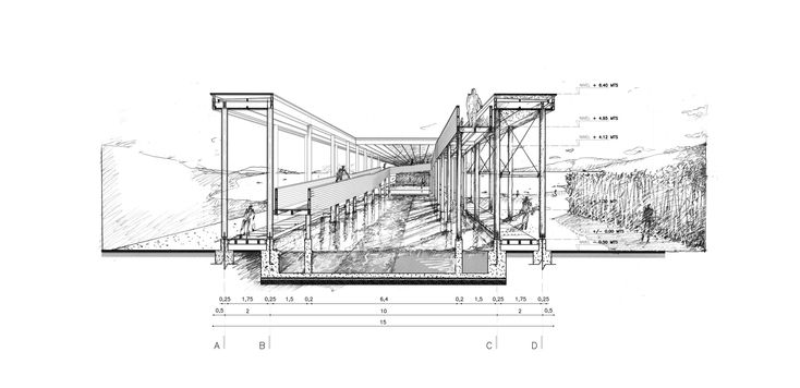 Galería de Muelle de Mimbre, un proyecto de rescate patrimonial - 1