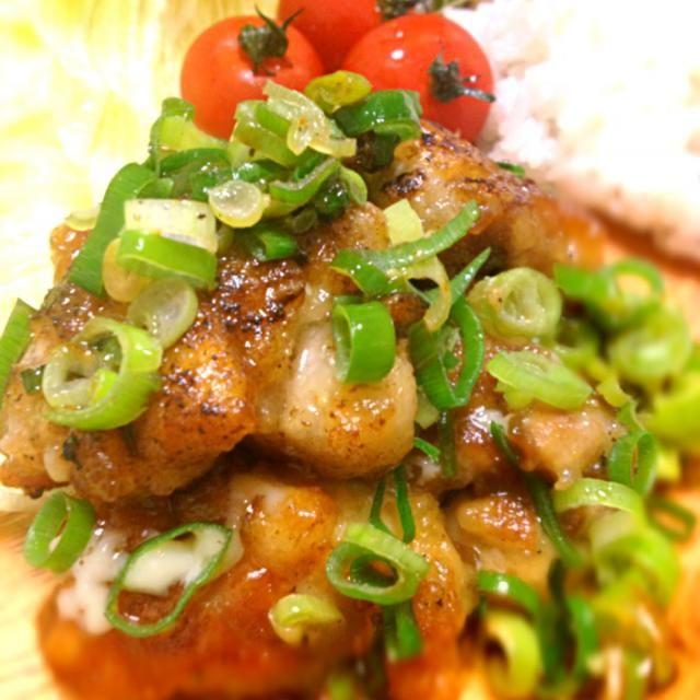 ごはんが止まらないーヽ(´o`; かんたん、めちゃうまです❤ - 181件のもぐもぐ - 鶏肉のマヨポン炒め❤ by miwamiwa1207