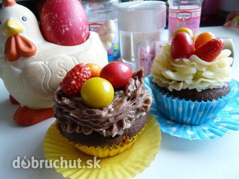 Fotorecept: Veľkonočné cupcakes