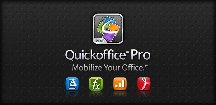 Quickoffice Pro Office PDF