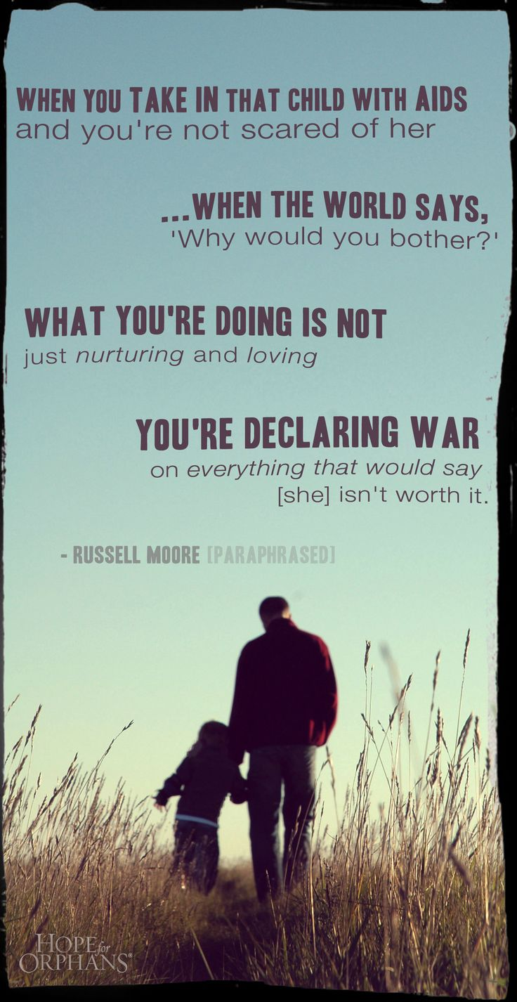 Declaring war on everything that says she isn't worth it #orphans #adoption #fathers #dad