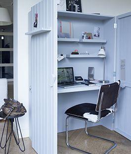 Maak zelf je eigen pop-up werkplek met opklapbaar bureau. Hoe je dat doet? Je leert het met de klusinstructie van KARWEI.