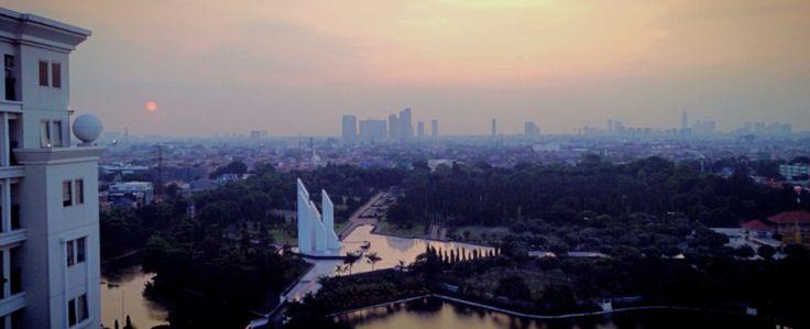 Sunset at kalibata - Jakarta - Indonesia