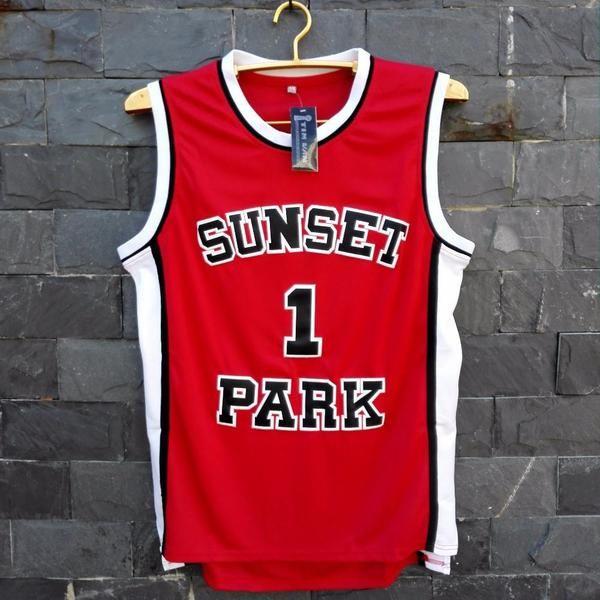 Stitched Fredro Starr Shorty Sunset Park Basketball Jersey #1