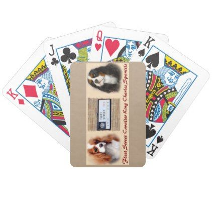 Fleet Street New Bicycle Playing Cards - home gifts ideas decor special unique custom individual customized individualized