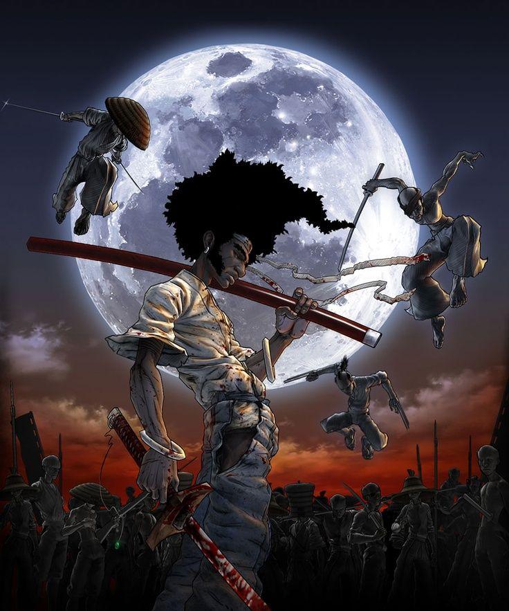 Afro Samurai - {anime, manga}