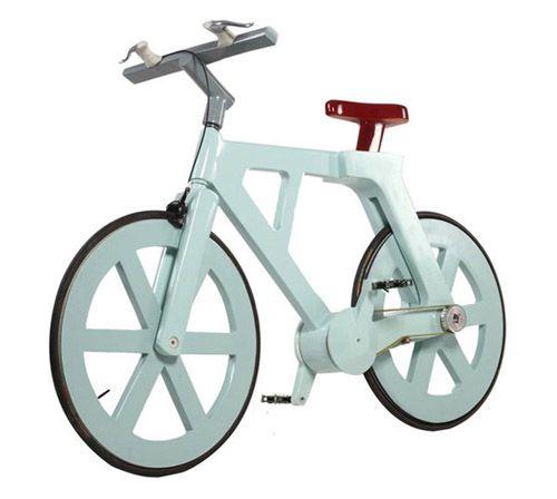 Cardboard Bicycle