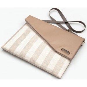 "Lola Victoria Design - torba na laptop i macbook 13"" Latte Macchiato"