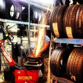 Dinosaur Tires is an auto shop specializing in affordable new and used wheels and tires in Fort Lauderdale FL. We carry the top brands for cars, trucks, and bikes. In addition to custom and chrome rims, Dinosaur Tires performs general auto repair and maintenance. http://www.dinosaurtires.com/