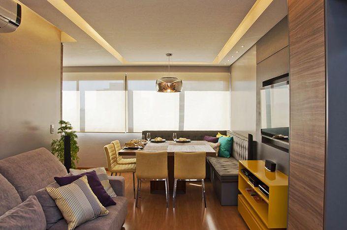Simpático apartamento de 27 metros quadrados