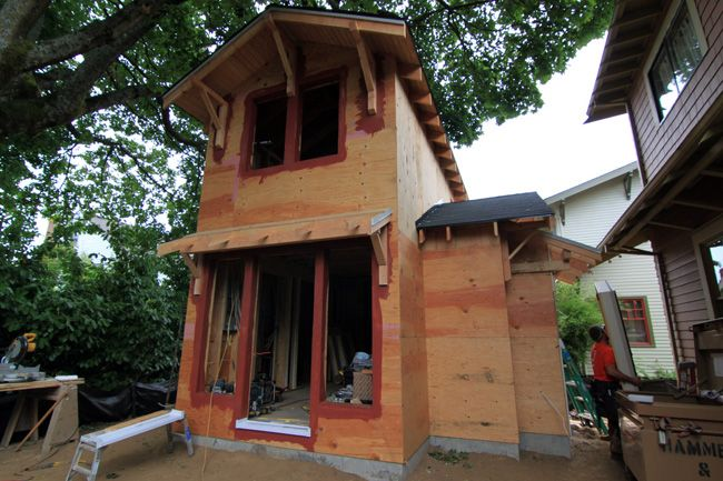 Earth Advantage certification projected for new Accessory Dwelling Unit: OPEN HOUSE November 16
