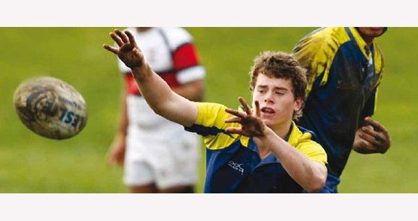 St Bernard's College (Boys Only) - Students Playing Rugby