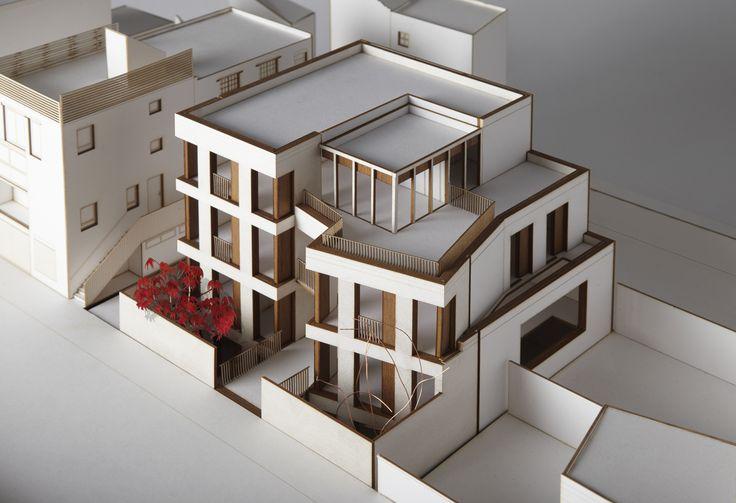 Mildmay Grove, Piercy&Company; Concept Model