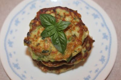 Savory Moments: Zucchini-corn fritters