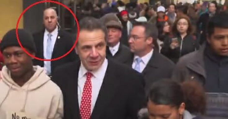 Photos: New York Governor Takes Part in Anti-Gun 'Die In' While Surrounded By Armed Security