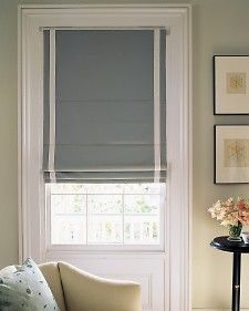 I love roman blinds and they are effective window coverings and look sleek and modern. My upstairs bathroom is in dire need of something, so this just may be my next DIY project.