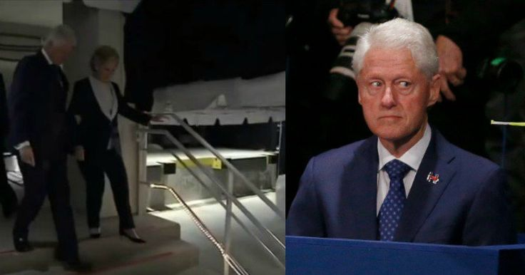 Security Cam Catches What Hillary & Bill Did Behind Building After Debate