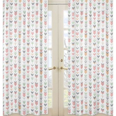 You'll love the Mod Arrow Curtain Panels at Wayfair - Great Deals on all  products with Free Shipping on most stuff, even the big stuff.