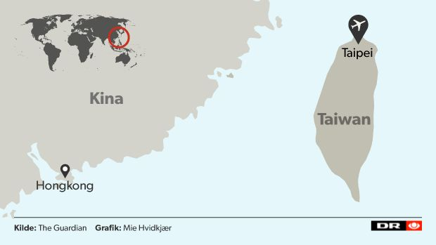 13 dræbt i Taiwan: Fly rammer motorvej og styrter ned i flod | Nyheder | DR