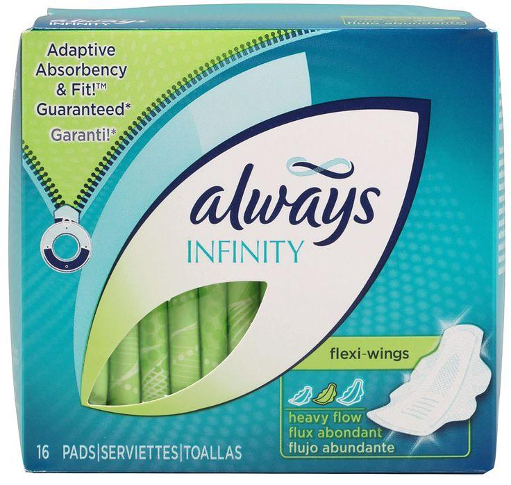 Always Femenine Pads Feminine pads, Tampon playtex