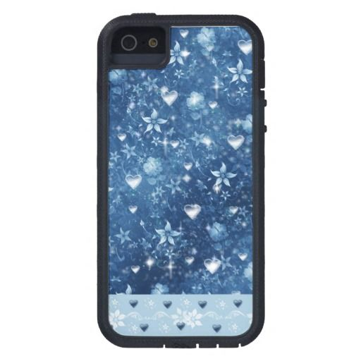 corazones y flores - white blue flowers hearts sparkles floral love magic magical glowing sparkling glittering, glow, sparkle, glitter