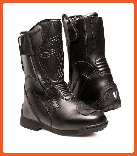 Vega Touring Women's Motorcycle Boots (Black, Size 8) - Boots for women (*Amazon Partner-Link)