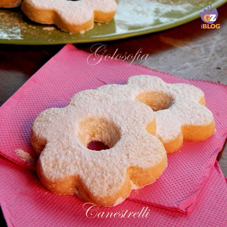 Canestrelli, famosi biscotti di pasta frolla, dalla consistenza friabile, che si sciolgono in bocca!