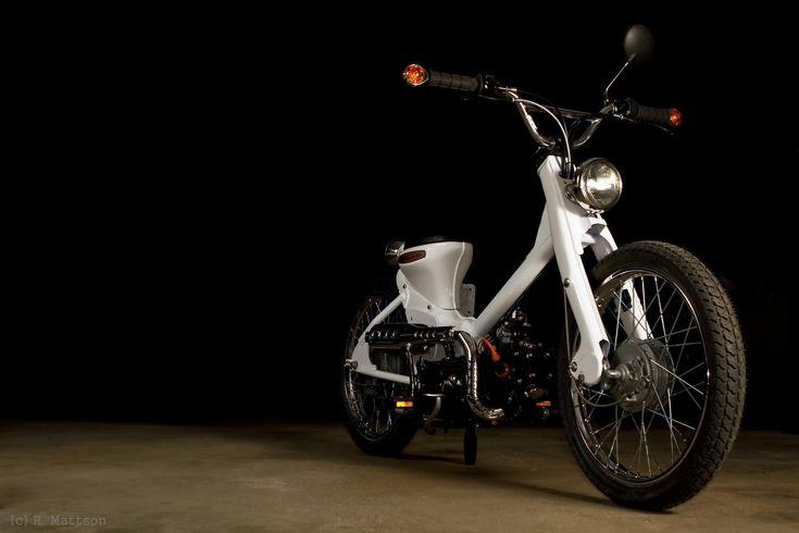 custom honda passport c70 | Honda c70 passport chop more - Motorcycle Pictures