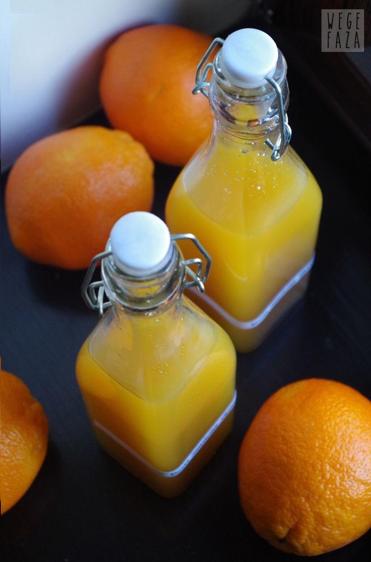 wegefaza: Nalewka pomarańczowo - korzenna (szybka)
