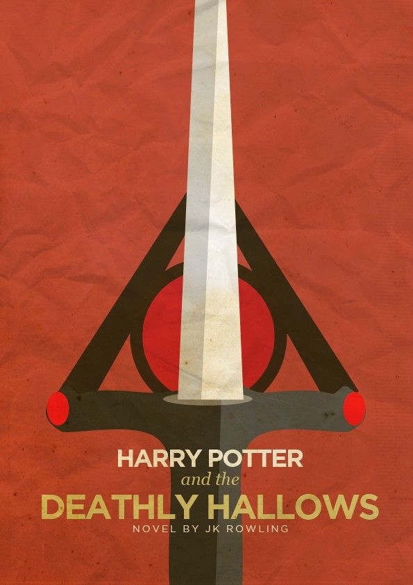Harry Potter Book Cover Poster : Best images about harry potter and the deathly hallows