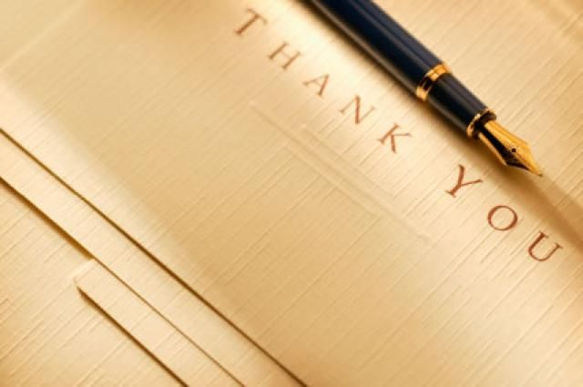 8 Tips for Writing Business Thank You Notes: Business Thank You Examples