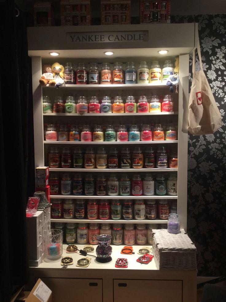 YankeeLove Yankee candle display unit  place like home