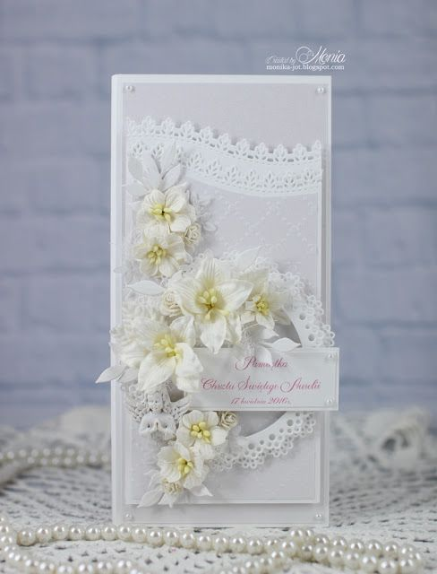 Wild Orchid Crafts: All white