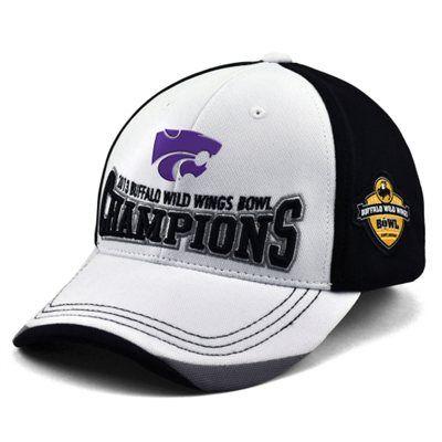Kansas State Wildcats 2013 Buffalo Wild Wings Bowl Champions Adjustable Hat