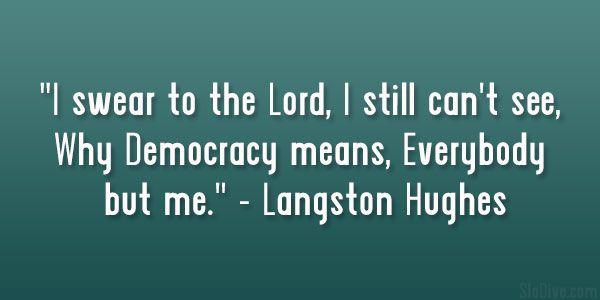 31 Stimulating Langston Hughes Quotes