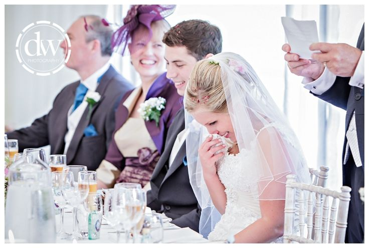 Wedding speeches at Chippenham Park, Cambrideshire