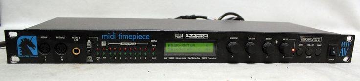 Mark of Unicorn Midi Time Piece 128 Channel Controller Processor Parallel Port