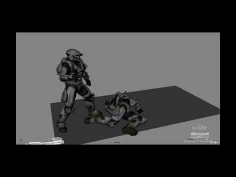Tom Saville - Halo: REACH Showreel